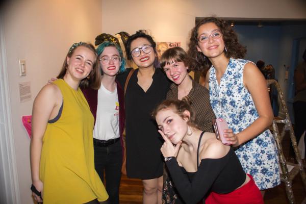 Libby Carr, Elizabeth Hoskins, Lynn Huyn, Valerie Lloyd, Maegan Fahy