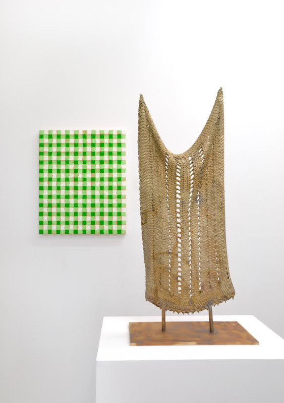 A Michelle Grabner bronze at Green Gallery, similar to one of the DMA purchases.