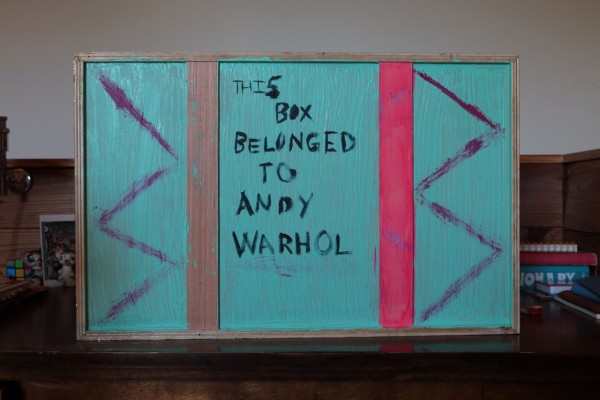 This box belongs to Andy Warhol