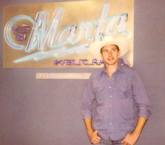 Tom Michael in 2006. Image via Marfa Public Radio.