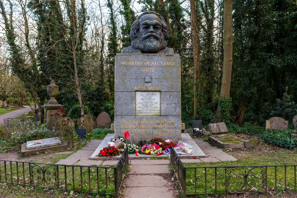 Highgate cemetery, London, UK