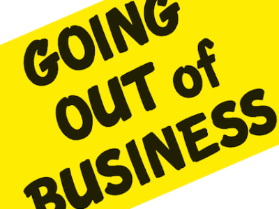 GOING OUT OF BUSINESS IS GOOD FOR BUSINESS image