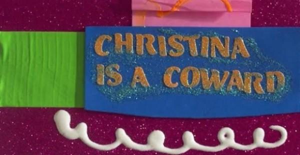 Megan Solis: Christina is a Coward image