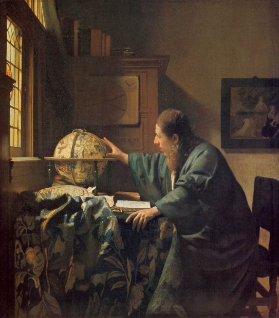 Johannes Vermeer, The Astronomer, c. 1668
