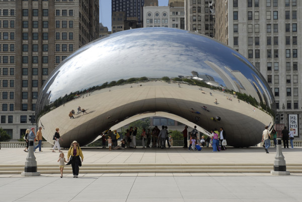 Anish Kapoor, Cloud Gate, 2006