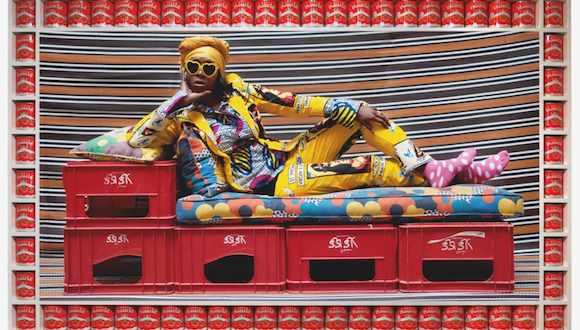Swizz Beatz art fair image
