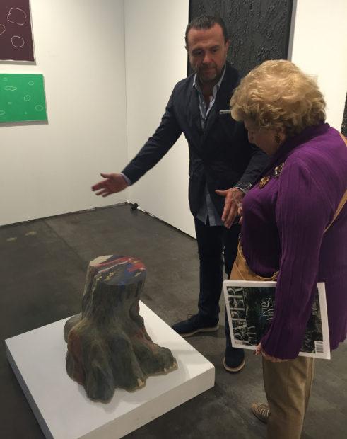 A success story of the fair, Mexico City dealer Enrique Guerrero will open a gallery in Houston's 4411 building