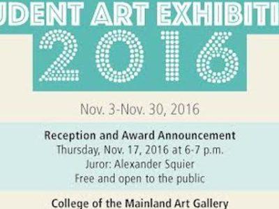 COM Student Art Exhibition 2016