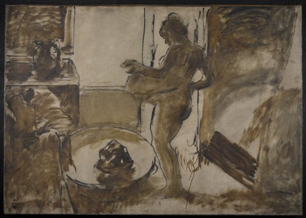 Nude Woman Drying Herself, 1884-86