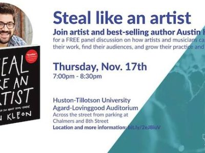 Steal Like An Artist: Panel Discussion with Austin Kleon