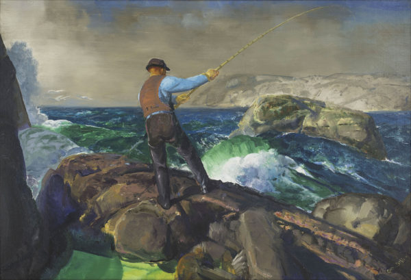 George Bellows (1882-1925); The Fisherman; 1917; Oil on canvas; Amon Carter Museum of American Art, Fort Worth, Texas; 2016.9
