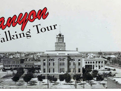 Canyon Historical Walking Tour