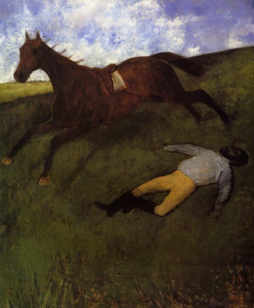 Degas, The Fallen Jockey