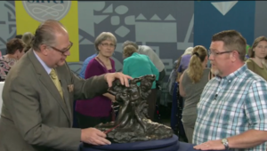 Screenshot of Antiques Roadshow via Dallas Observer