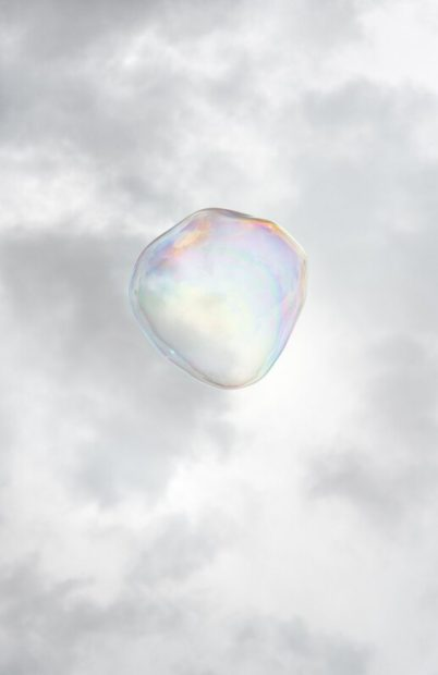 Bubble No. 1 , 2014, pigment print on rag paper, 34 x 23 in.