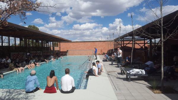 Poolside at the Hotel Saint George