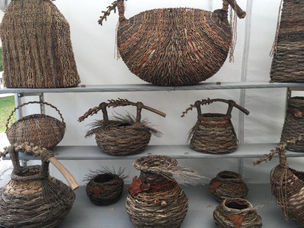 Basket Art By Samuel Yao : Houston the bayou city art festival is back glasstire