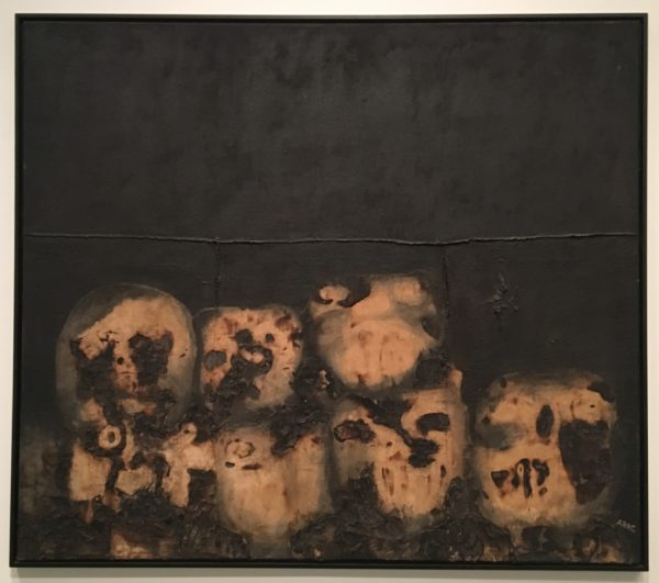 Antonia, Eiriz, Procession, 1963, oil on canvas