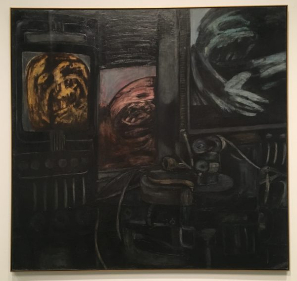 Antonia Eiriz, Los de arriba y los de abajo (The Privileged and the Underdogs), 1963, oil on canvas