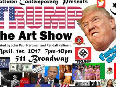 Trump Art show