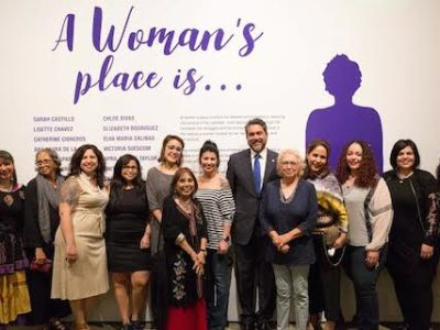 A Woman's Place Is…