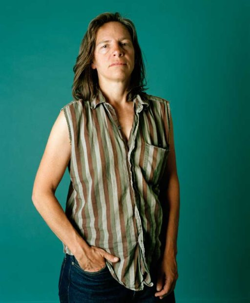Portrait of Eileen Myles by Catherine Opie.