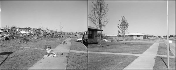 1600 block Aldrich Avenue, looking east, April 14, 1979 / June 1980