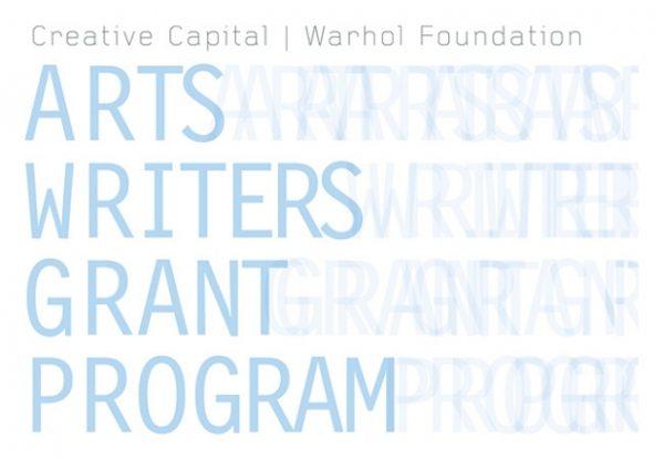 arts writers grant program