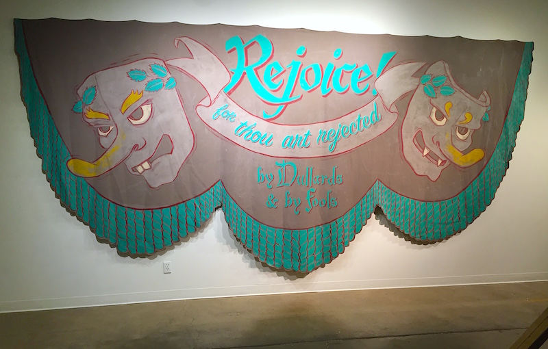 Heyd Fontenot, from his show Kult Klassic at Conduit Gallery, Dallas, last year. Photo by Kevin Todora.