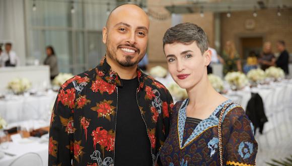 Arthur Pena and Justine Ludwig (Image: Steve Wrubel)