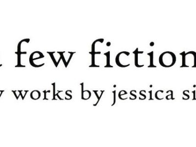 A few fictions: new works by Jessica Sinks