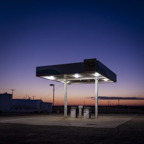 Meadow Gas Station, Meadow, Texas, 2015, archival pigment print