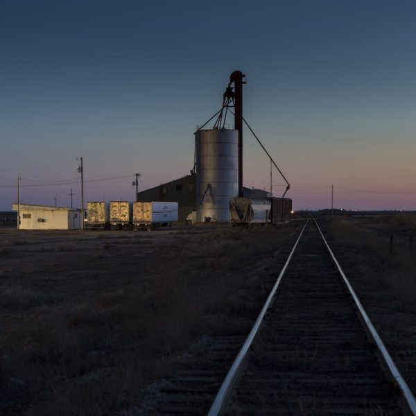 Night Tracks, Ropesville, Texas, 2015, archival pigment print