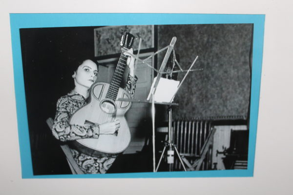 Lydia Mendoza Bluebonnet. (is in exhibit) Moser's exhibition opens a window on 1930s San Antonio, its musical landscape, and its importance as a regional recording center. Lydia Mendoza recorded in the Bluebonnet Hotel.