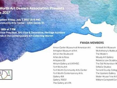 Fort Worth Art Dealers Association Presents Selections 2017