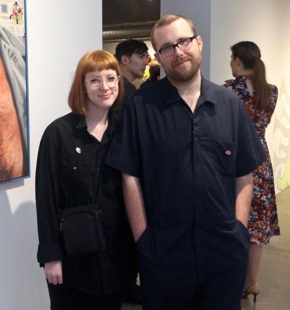 Sarah Welch and James Beard