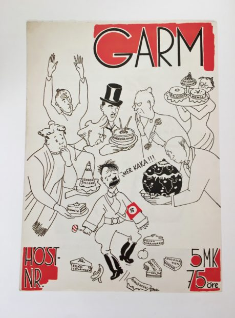 Garm Cover 1938