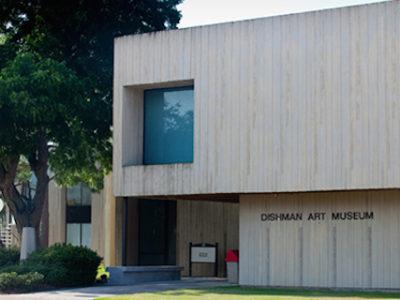 Dishman art museum at lamar