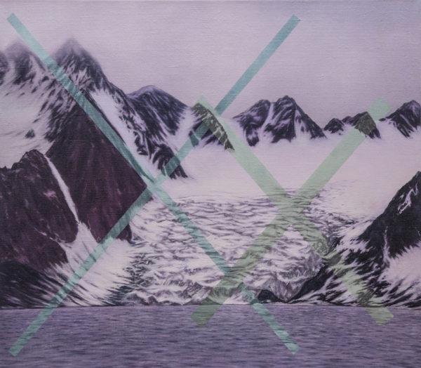 magenta glacier Xx