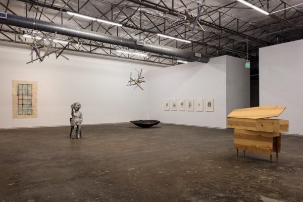 Kiki Smith. Installation view of Mortal, 2017. Photo by Kevin Todora. Courtesy of Dallas Contemporary