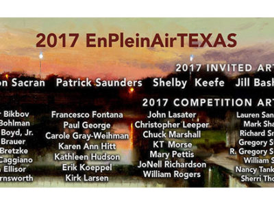 Fourth EnPleinAirTEXAS National Juried Painting Competition
