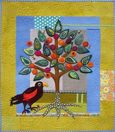 A quilt by Sue Spargo