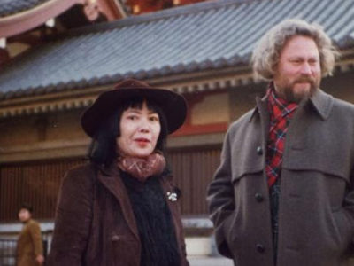 Image: Yayoi Kusama and Donald Judd in Japan in 1978 © Judd Foundation.