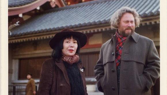 Image: Yayoi Kusama and Donald Judd in Japan in 1978 © Judd Foundation.