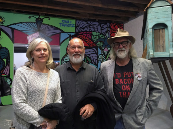 Janet Chaffee, Benito Huerta, Joe Barrington