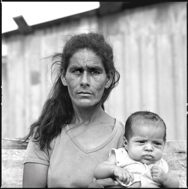 Blind Woman and Child, Colonia Nuevo Laredo, Mexico, April 19, 1993 Gelatin silver print