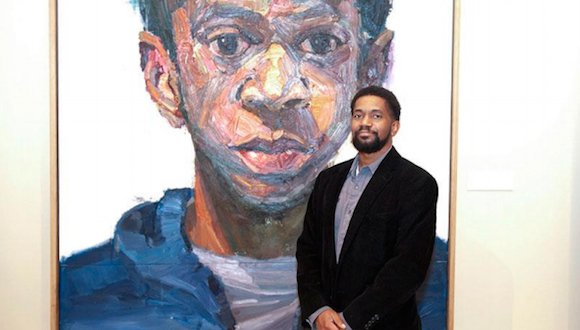 2016 Moss/Chumley North Texas Artist Award winner Sedrick Huckaby
