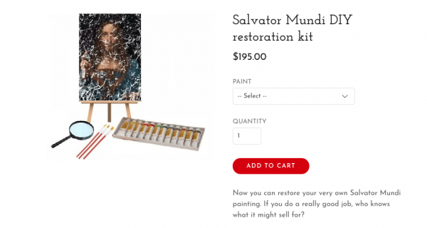 Real Salvator Mundi
