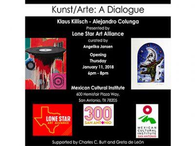 Alejandro Colunga & Klaus Killisch: Kunst/Arte: A Dialogue