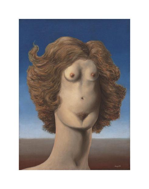 Rene Magritte, The Rape